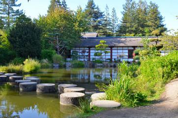 Japan public garden, île de Versailles, Nantes, France
