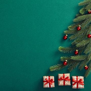 Creative minimal christmas tree