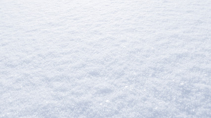 Winter snow background. The texture of fresh, clean, sparkling, freshly fallen snow