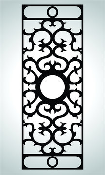 vector carved window and interior patterns