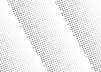 Abstract halftone dotted background. Monochrome pattern with square.  Vector modern pop art texture for posters, sites, cover, business cards, postcards, grunge art, labels layout, stickers. Wall mural