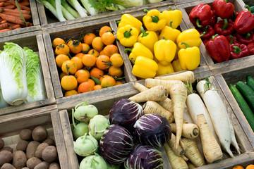 Gemüse, Obst, kaufen