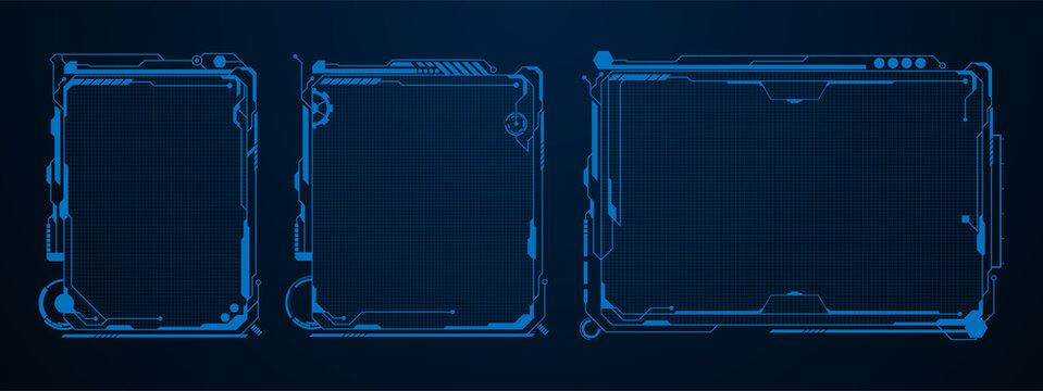 futuristic template digital design concept background