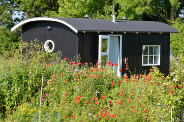 Bauwagen Ferienhaus, Tiny house
