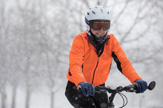 Vélo l'hiver - winter cycling