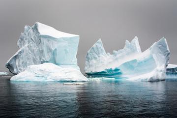 In de dag Antarctica iceberg in antarctica