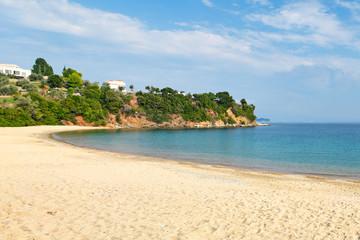 The beach Achladies in Skiathos, Greece