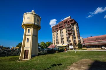 Old Water Tower And Hotel Danube - Vukovar,Croatia