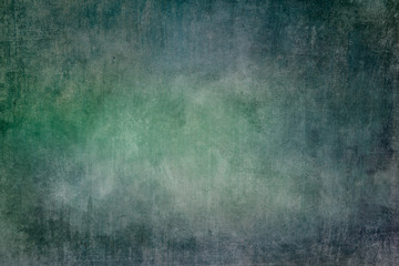 Green and blue grungy background or texture