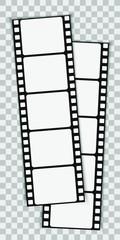 Cinema icon for concept design. Video camera simple icon. Cinema frame. Movie film reel. Black ticket icon. Drink element. Vector photo booth icon.