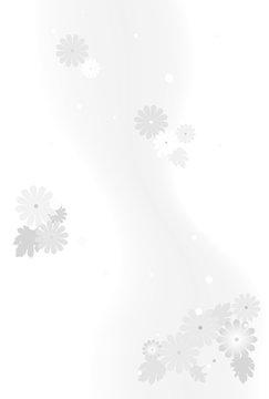 喪中はがき 菊の花