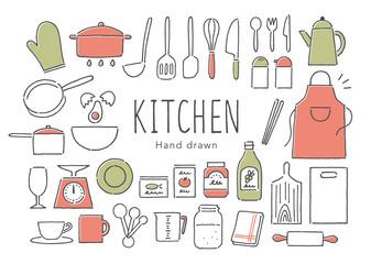 キッチン用品カラー