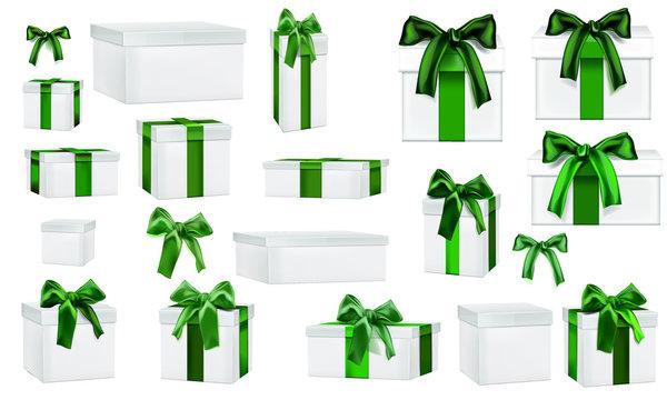 Paquet Cadeau Vert
