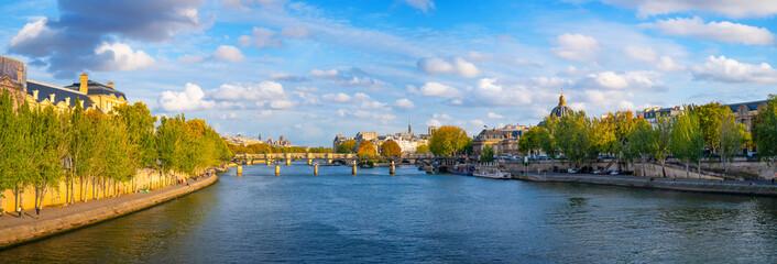 Paris panoramic cityscape