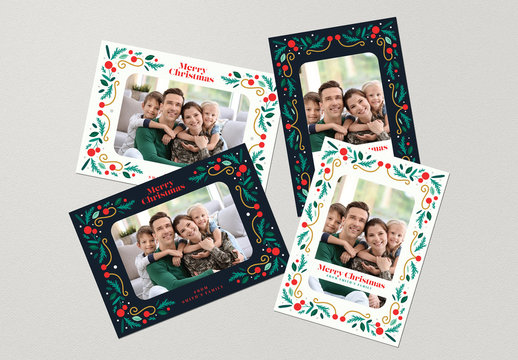 Christmas Photocard Layouts