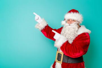 Santa Claus and winter sales