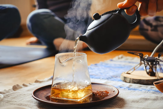 Beautiful chinese tea ceremony