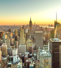 Fotomurales - New York City Manhattan midtown buildings skyline in 2019