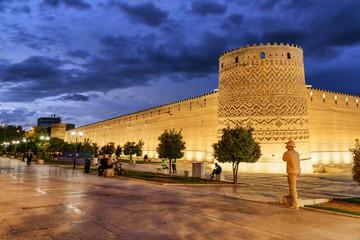 View of the Karim Khan Citadel in Shiraz, Iran