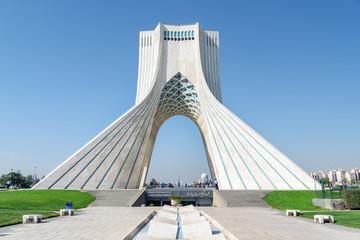 Wonderful view of the Azadi Tower (Freedom Tower), Tehran, Iran