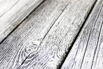 Foto op Canvas koffiebar white wood texture low angle_3641