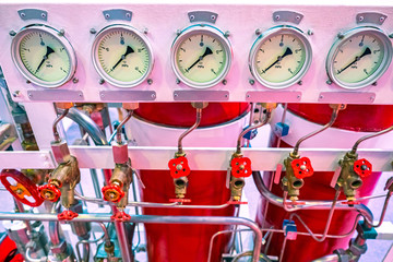 Automatic fire fighting system. Fire extinguishers. Ensuring fire safety on the ship. Flame extinguishing system at the enterprise. Security compartment. Sensors of the flame system.