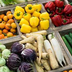 Markt, Gemüse, Obst