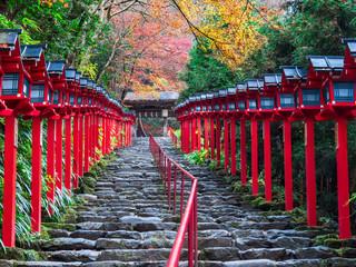 秋の京都 貴船神社