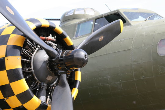 B17 Flying Fortress, WW2 bomber