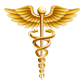 Caduceus Medical Icon.