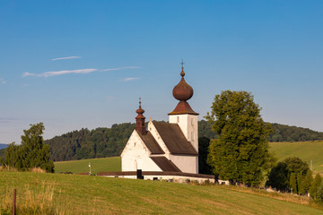 Fototapete - church in Zehra, Spis region, Slovakia