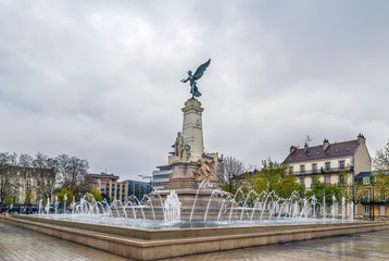 Monument of Sadi Carnot, Dijon, France