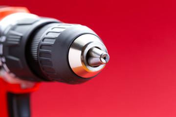 Battery screwdriver or drill, cordless drill, mandrel
