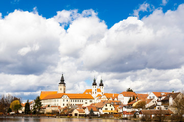 old town in Telc, Czech Republic