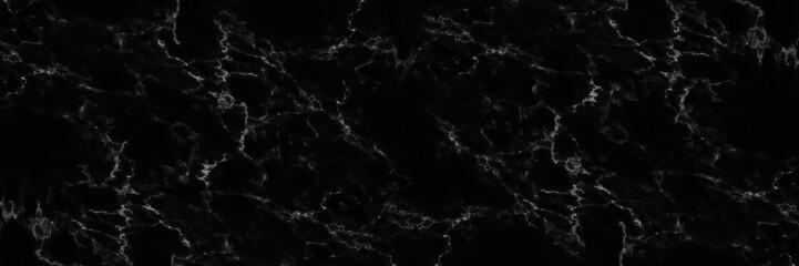 Wall Mural - horizontal elegant black marble background