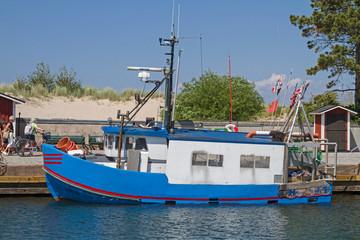 Fischerboot in Bastad