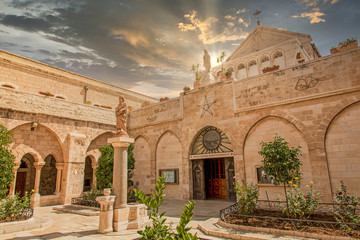 The Church of the Nativity in Bethlehem Fotomurales