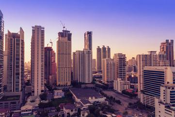 Cityscape in Bangkok
