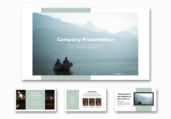Presentation Pitch Deck Layout