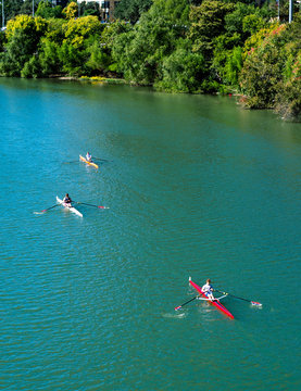 A Race on the Colorado River
