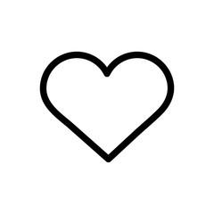 Isolated heart shape vector design