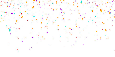 Confetti Background. Vector illustration confetti background. Party and birthday confetti vector background Fototapete