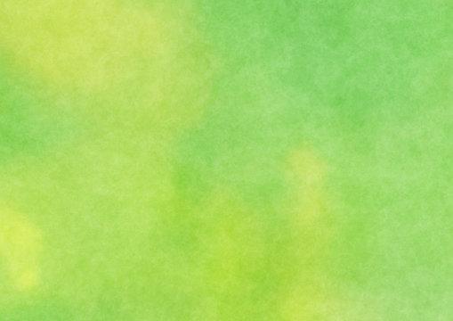 Green watercolor render background