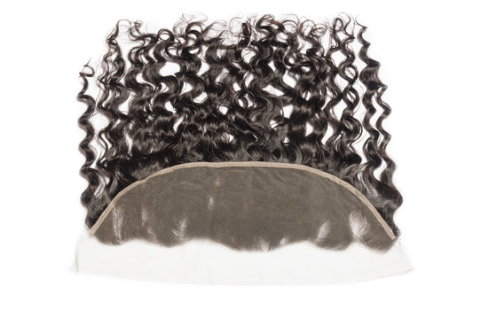 loose wave wavy black human hair weaves extensions lace frontal closure