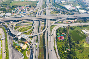 Bangkok Expressway top view, Top view