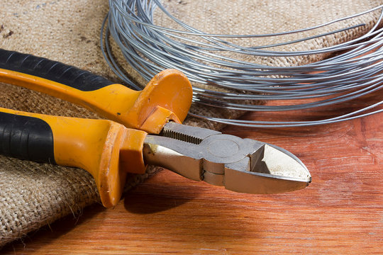 Wire cutters and wire