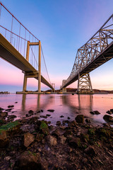 Carquinez Bridge at Sunrise