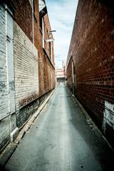brick alley way