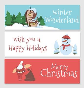 Winter Wonderland, Wish You a Happy Holidays, Xmas