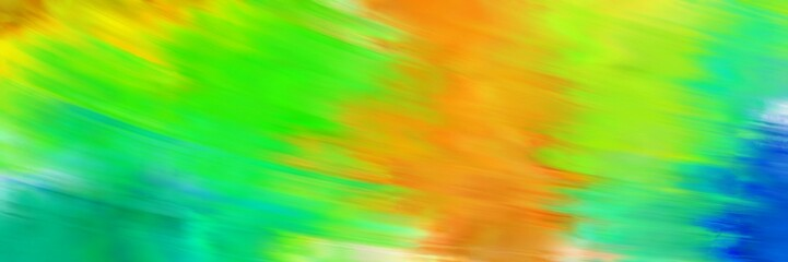 speed blur background with lime green, medium sea green and golden rod colors Wall mural